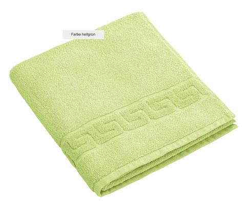 Handtuch DREAMFLOOR von WESETA - hellgrün