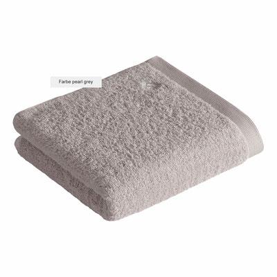 Handtücher HIGH LINE von Vossen - pearl grey