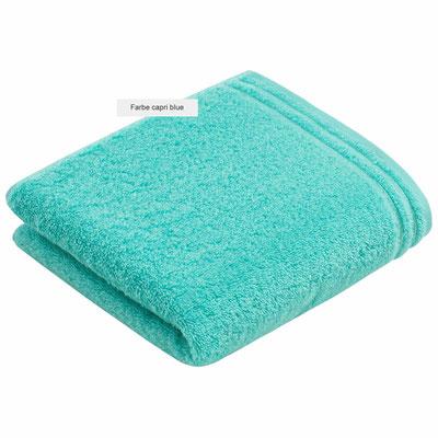 Handtuch Calypso Feeling von Vossen - capri blue