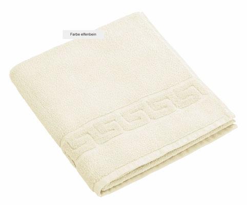 Handtuch DREAMFLOOR von WESETA - elfenbein