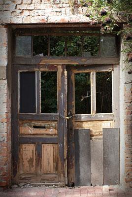 Tür zum geheimen Garten