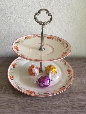 Nr. 434      sFr. 27.- (Dessertteller, Unterteller)  Höhe ca. 16cm