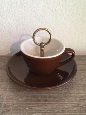 Nr. 307    sFr. 14.-    (Espressotasse mit Unterteller)  Höhe ca. 10cm   (**)