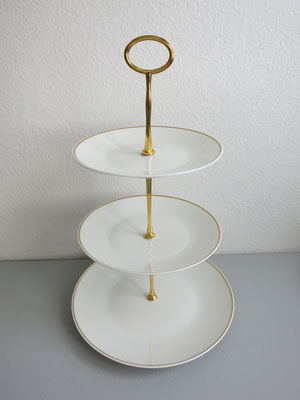 Nr. 35     sFr. 35.- Rosenthalgeschirr  (Essteller, Suppenteller, Dessertteller)  Höhe 39cm  (C)
