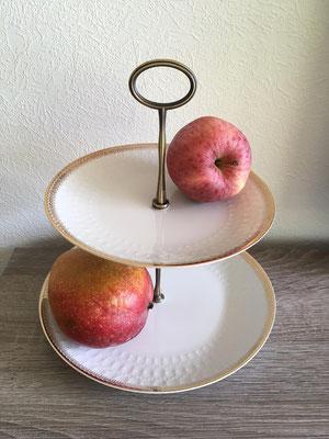 Nr. 462  sFr.29.-   (Essteller & Dessertteller)  Höhe ca. 20cm