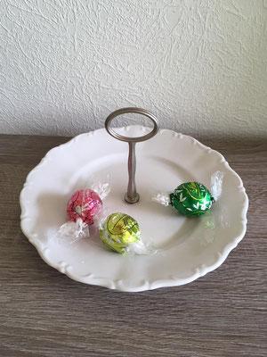 Nr. 449  sFr. 14.- Dessertteller mit Griff   Höhe ca 8cm