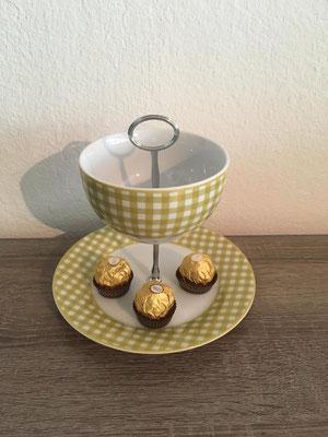 Nr. 175    sFr. 27.- (Dessertteller mit kl.Schale)  Höhe ca. 16cm    (M)