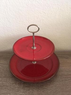 Nr. 209   sFr. 27.- Dessertteller mit Unterteller  Höhe ca. 16cm