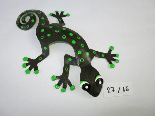Gecko klein  sFr. 39.-  Nr. 27   bereits verkauft! Bei Wunsch wird er neu gemalt.