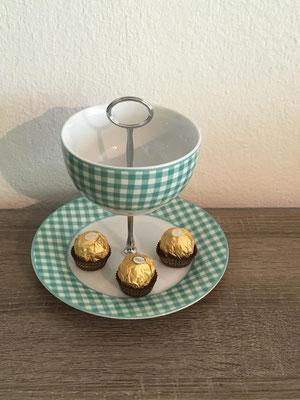 Nr. 165    sFr. 27.- (Dessertteller mit Schale  Höhe) ca. 16cm