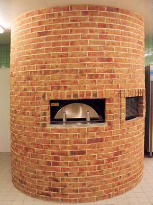 "Original Pizza Ofen im Bereich ""Italian""; Foto: Jan-Frederik Wäller"
