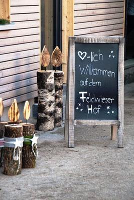 Herzlichen willkommen auf dem Feldwieser-Hof!
