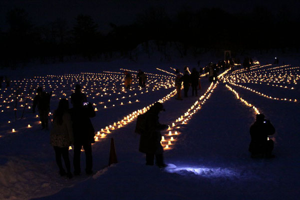 裏磐梯灯篭祭り