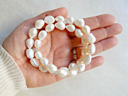 collier en perles de culture eau douce