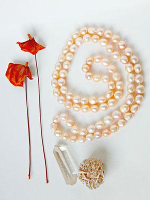 Sautoir perles de culture eau douce