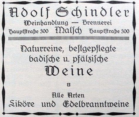 Schindler 1923