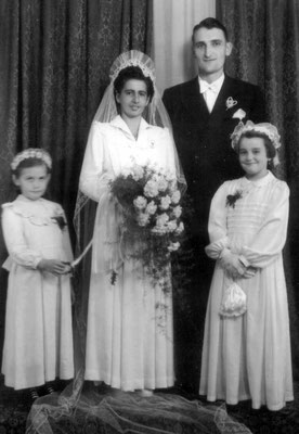 1. 10.1953 Michael Grebhardt und Emma Grebhardt geb. Huck