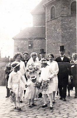 Sofie und August Schmitt 29. April 1931, siehe unten ausführliche Informationen