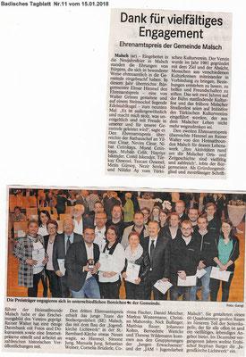 Badisches Tagblatt 15.01.2018