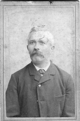 Großvater Berthold Hitscherich, ca. 1885