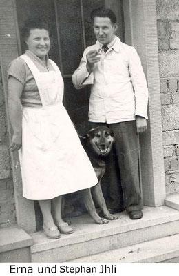 Erna, Hund Hasso, Stephan