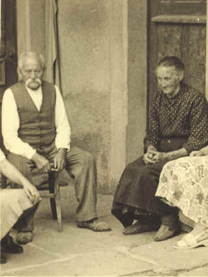 Lorenz und Karoline Wipfler 1953