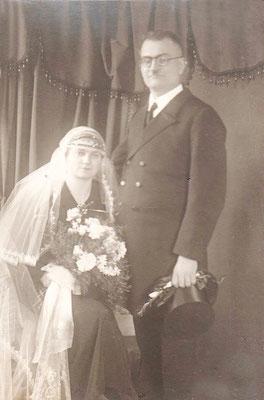 12.01.1935 Josef Deubel - Alma geb Heck