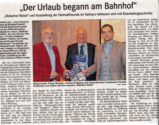 Badisches Tagblatt 21.5.2019