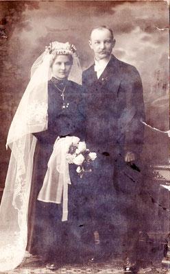 ca. 1920 Gräser & Luise geb. Heinrich & Josef