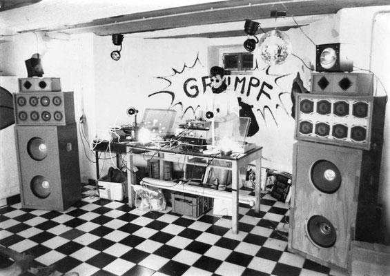 1994 Disco- und Proberaum Keller