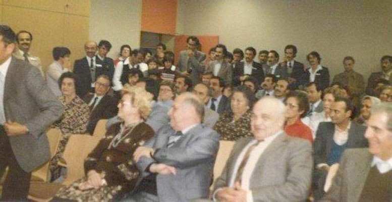 1981 Gründung im alten Vereinsraum AW Hans-Thoma-Schule