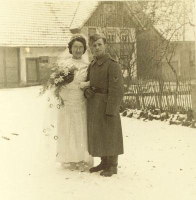 23. November 1942 Walter Else geb. Müller & Rudolf