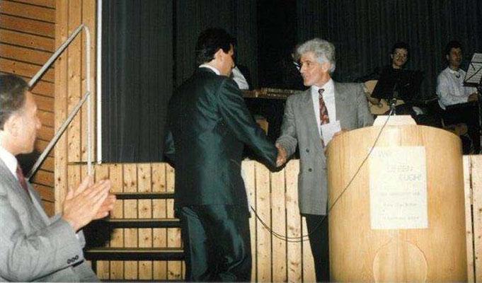1991 10 Jahre TKV, Bürgermeister Süss