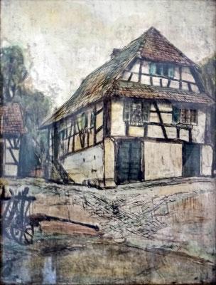 Fasanenstraße 10 - Ombertsgass - Haus Späth vorher Hirth