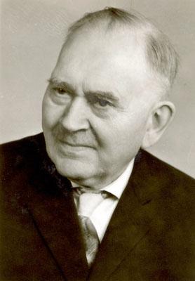 Pfarrer Dinglinger als Pensionär