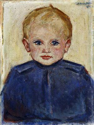 Schindler 1945 Kinderportrait des Nikolaus Koch