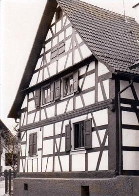 Weitestraße Haus Merklinger 1748 Denkmalgeschützt
