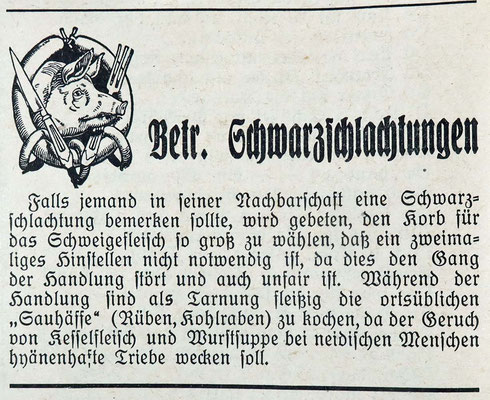 GroKaGe Pflugschar 1949