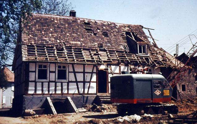 Haus Kistner Schulstraße Abbruch