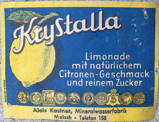 KryStalla Limonade, Alois Kastner
