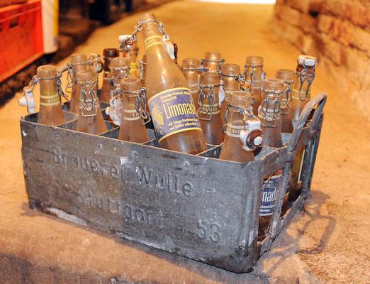 Kasten von der Brauerei Wulle
