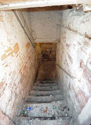 © Heiberger Abgang zum ersten Keller