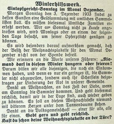 Gemeindeanzeiger 23.2.1934