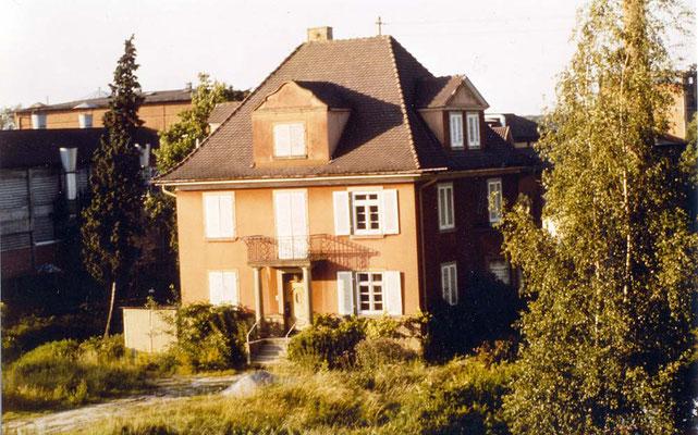 Villa Jäger, kurz vor Beginn der Jugendhausnutzung