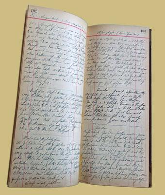 Das Familienkochbuch ca 1900 bis 1938.