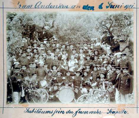 6.6.1901 Feuerwehrkapelle