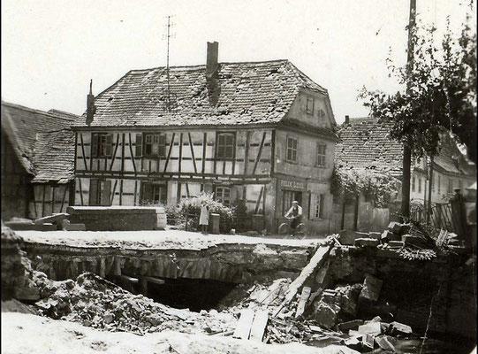 Totenbrücke 1945