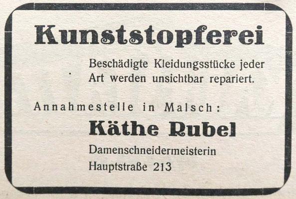 Käthe Rubel Kunststopferei -GA-07-06-1952