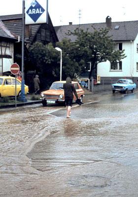 Hauptstraße 13, Hochwasser