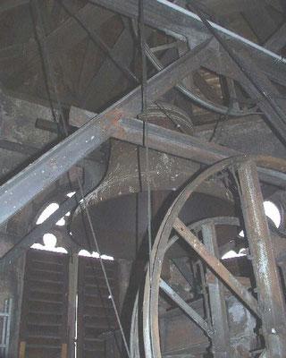 Blick in den Glockenturm